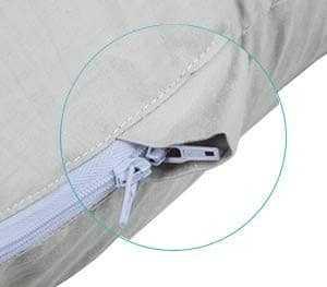 Meiz U Shape Pregnancy Pillow Double Zipper